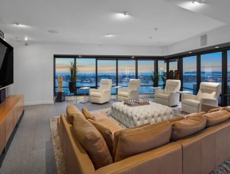 New Listing – Harbor Club #3602 – Half Floor Penthouse with Sweeping Views
