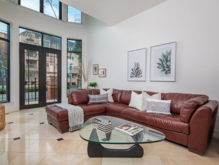 New Listing – Cityfront Terrace #108 – Reminiscent of a Sophisticated Brownstone!