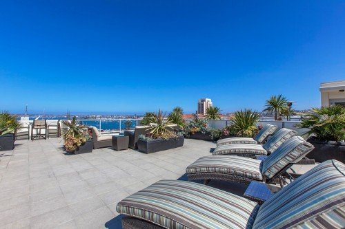 Breeza Rooftop Deck, Little Italy, San Diego