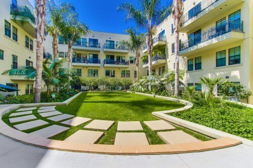Doma Courtyard, Little Italy, San Diego